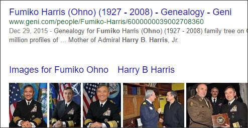 https://www.google.co.jp/search?q=Fumiko+Ohno%E3%80%80Harry+B+Harris&hl=EN&source=lnms&sa=X&ved=0ahUKEwibuKKjyMXTAhWhjlQKHay8AhYQ_AUICSgA&biw=1232&bih=802&dpr=1