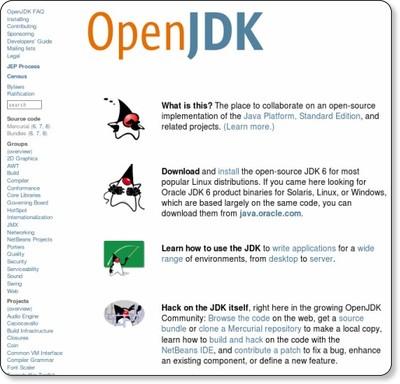 http://openjdk.java.net/