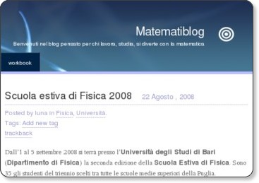http://lunna.wordpress.com/2008/08/22/scuola-estiva-di-fisica/