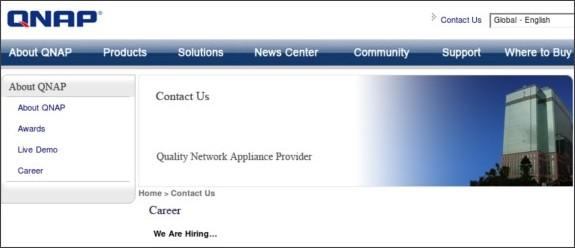 http://www.qnap.com/Career.asp