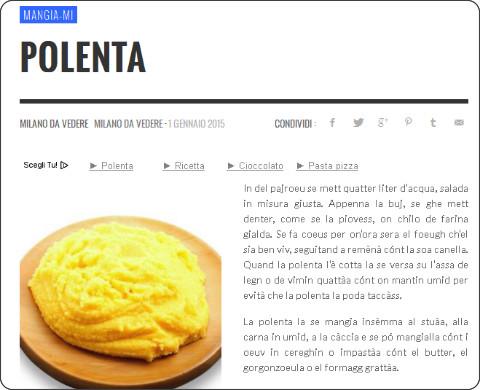 polenta polenta bread polenta creamy polenta pumpkin polenta taleggio ...