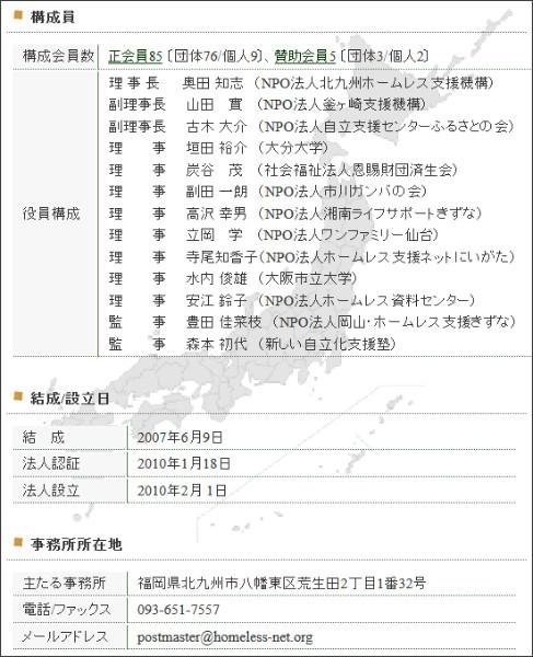 http://webcache.googleusercontent.com/search?q=cache:GKBxtf8fP9YJ:www.homeless-net.org/html/org.html+&cd=1&hl=ja&ct=clnk&gl=jp