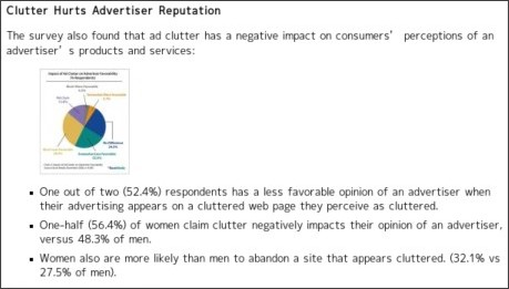 http://www.marketingcharts.com/interactive/ad-clutter-reduces-ad-effectiveness-degrades-brand-perception-7158/?utm_campaign=