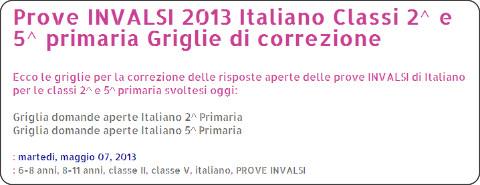 http://www.ciaomaestra.com/2013/05/prove-invalsi-2013-italiano-classi-2-e.html