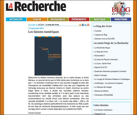 http://larecherche.typepad.fr/le_blog_des_livres/2010/09/les-liaisons-num%C3%A9riques.html