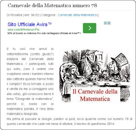http://www.crescerecreativamente.org/2014/10/carnevale-della-matematica-numero-78.html