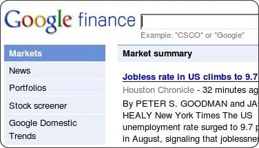 http://www.google.com/finance
