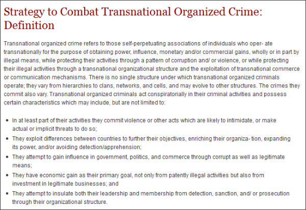 http://www.whitehouse.gov/administration/eop/nsc/transnational-crime/definition