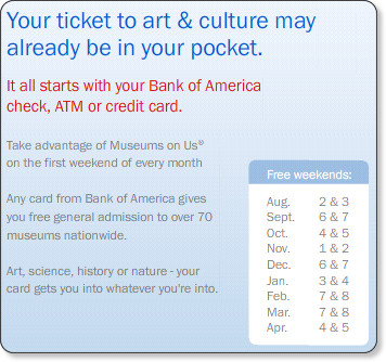 http://promotions.bankofamerica.com/museums/