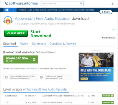 http://apowersoft-free-audio-recorder.software.informer.com/download/?ca63c18-2.1.7#downloading