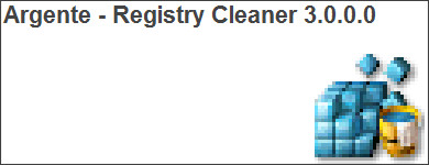 http://argentesoftware.blogspot.com/search/label/Argente%20-%20Registry%20Cleaner%203.0.0.0