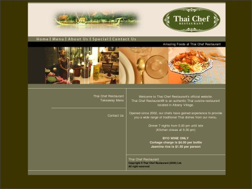 http://www.thaichefrestaurant.co.nz/index.html