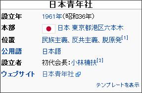 http://ja.wikipedia.org/wiki/%E6%97%A5%E6%9C%AC%E9%9D%92%E5%B9%B4%E7%A4%BE