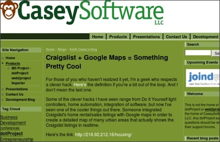 http://caseysoftware.com/blog/craigslist-google-maps-something-pretty-cool
