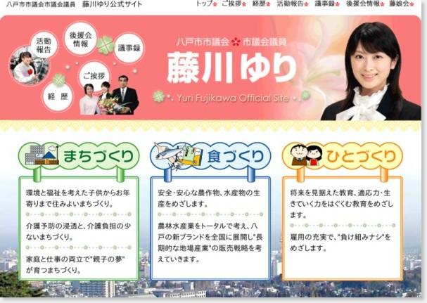 http://www.fujikawa-yuri.com