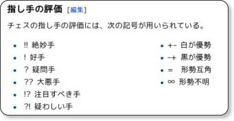 http://ja.wikipedia.org/wiki/%E6%A3%8B%E8%AD%9C