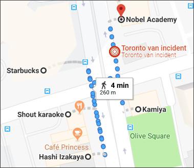 https://www.google.com/maps/dir/Kamiya,+2f,+5585A+Yonge+St,+North+York,+ON+M2N+5S4,+Canada/Hashi+Izakaya/Shout+karaoke/Starbucks/Nobel+Academy/@43.7801661,-79.4164695,18z/data=!4m32!4m31!1m5!1m1!1s0x882b2d0de860c50f:0x1e852f65b0746d86!2m2!1d-79.415212!2d43.779592!1m5!1m1!1s0x882b2d0d95560289:0x7155df8c89075bcb!2m2!1d-79.4157417!2d43.7792317!1m5!1m1!1s0x882b2d0dc66df2cb:0xd12100e44d057541!2m2!1d-79.415948!2d43.779551!1m5!1m1!1s0x882b2d0dd9f625dd:0x861069ecc16e99ff!2m2!1d-79.416205!2d43.779884!1m5!1m1!1s0x882b2d0e6d834e81:0x719234c7212bf03b!2m2!1d-79.4153925!2d43.7802716!3e2