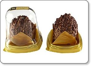nif bor rou sha 【食べ物】ナッツがトッピングされているチョコケーキ。セブンイレブンの「チョコケーキマウンテン」に注目です