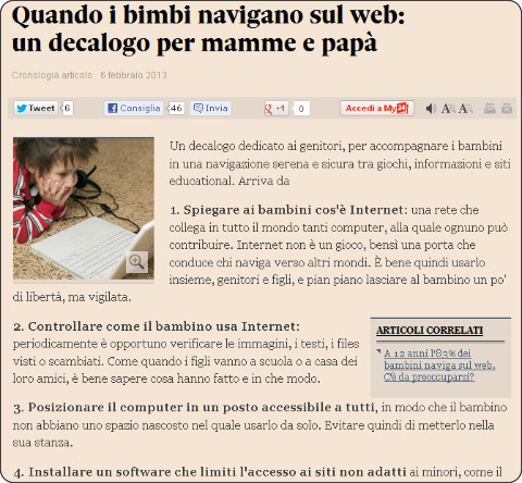 http://www.ilsole24ore.com/art/notizie/2013-02-06/quando-bimbi-navigano-decalogo-203821.shtml?uuid=AbfkyvRH