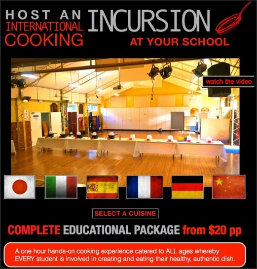 http://www.piattoperfetto.com/School_cooking_incursions/Welcome.html