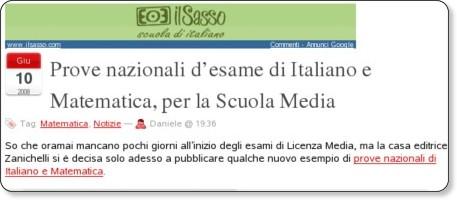http://lnx.sinapsi.org/wordpress/2008/06/prove-nazionali-desame-di-italiano-e-matematica-per-la-scuola-media