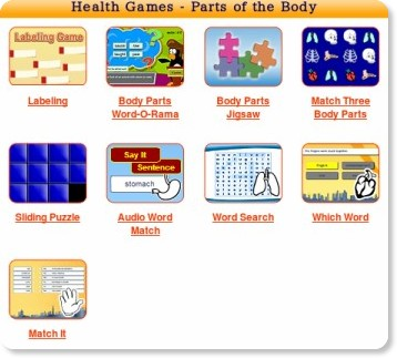 http://www.learninggamesforkids.com/health_games_body_parts.html