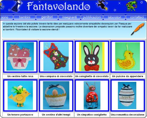 http://www.fantavolando.it/insegnanti/decorazioni/pasqua/schede_pasqua.html