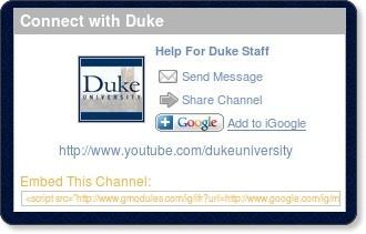 http://www.youtube.com/dukeuniversity