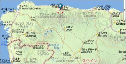 http://map.yahoo.co.jp/pl?lat=43.370125&lon=354.157767&p=%E3%82%AA%E3%83%93%E3%82%A8%E3%83%89&ei=UTF-8&type=scroll&mode=map&sc=15