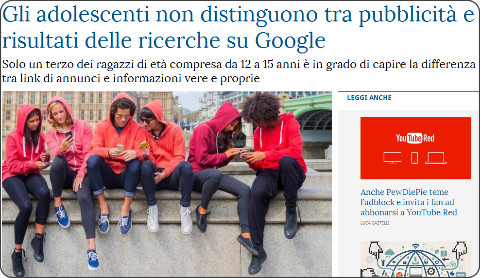 https://www.lastampa.it/2015/12/01/tecnologia/gli-adolescenti-non-distinguono-tra-pubblicit-e-risultati-delle-ricerche-su-google-TzLxbK3zmZpseZ2uqyGFUK/pagina.html