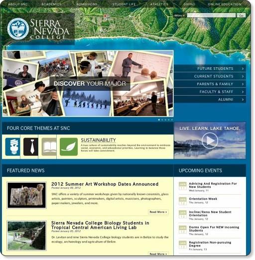 http://www.sierranevada.edu/home.php