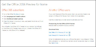 https://products.office.com/en-us/office-2016-preview