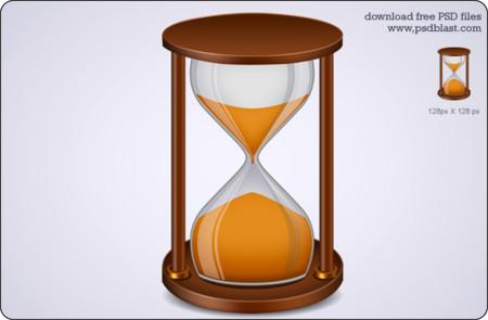 http://psdblast.com/sand-timer-icon-hourglass-icon-psd