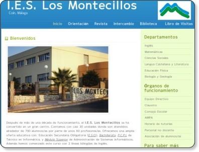 http://www.juntadeandalucia.es/averroes/ieslosmontecillos/index.php