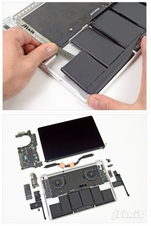 http://www.ifixit.com/Teardown/MacBook-Pro-with-Retina-Display-Teardown/9462/3