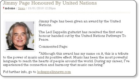 http://www.classicrockmagazine.com/news/jimmy-page-honoured-by-united-nations/