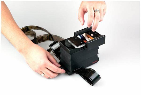 http://www.kickstarter.com/projects/lomography/the-lomography-smartphone-film-scanner
