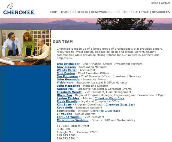 http://www.cherokeefund.com/team.htm