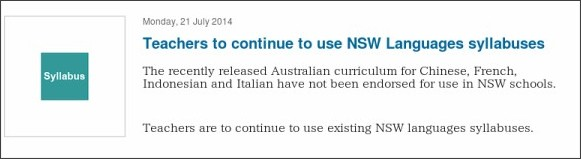 http://news.boardofstudies.nsw.edu.au/index.cfm/2014/7/21/Teachers-to-continue-to-use-NSW-Languages-syllabuses