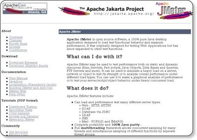 http://jakarta.apache.org/jmeter/