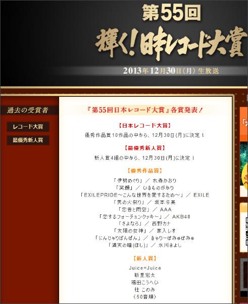 http://www.tbs.co.jp/recordaward/