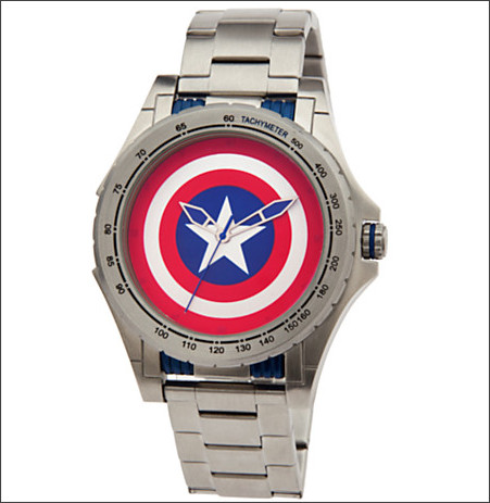 http://www.disneystore.com/captain-america-stainless-steel-watch-for-men/mp/1356589/1000302/
