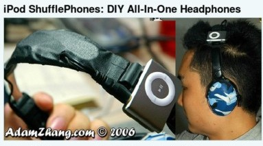 http://gizmodo.com/gadgets/portable-media/ipod-shufflephones-diy-allinone-headphones-220021.php