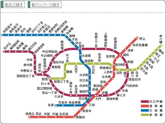 http://www.kotsu.metro.tokyo.jp/subway/stations/index.html