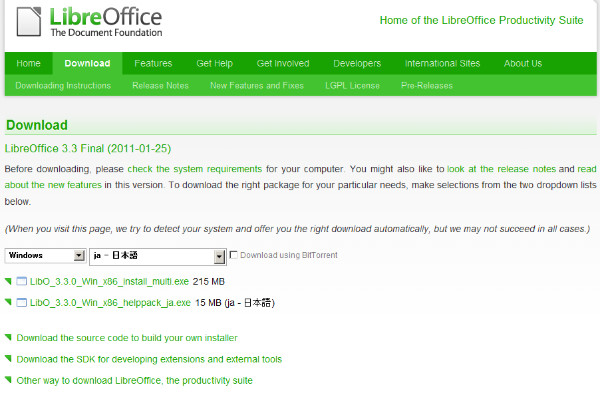 http://www.libreoffice.org/download/