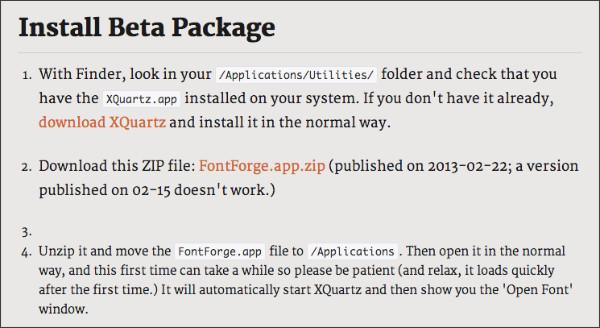 http://fontforge.github.com/en-US/downloads/mac.html