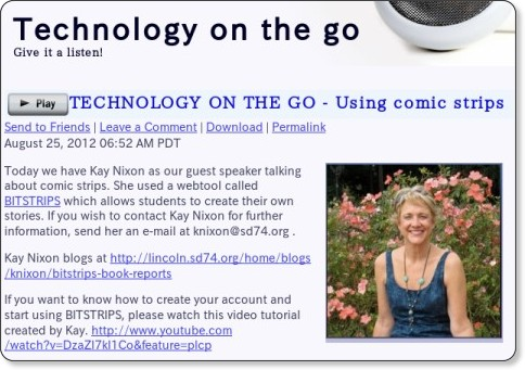 http://technologyonthego.podomatic.com/