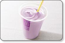 5az bor rou sha 【食べ物】ぶどう風味?マクドナルドの新メニュー「マックシェイクグレープ味」が超美味しかった!!