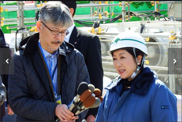 小池都知事も出席した世界最大級のシールドマシン発進式