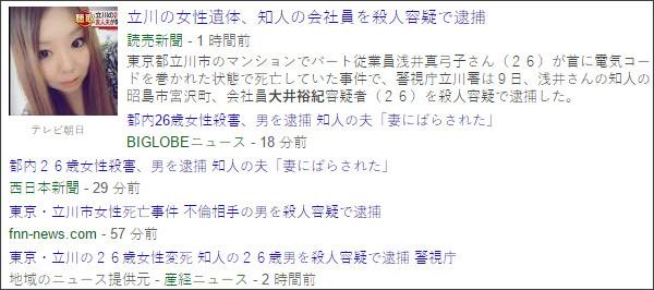 https://www.google.co.jp/search?hl=ja&gl=jp&tbm=nws&authuser=0&q=%E5%A4%A7%E4%BA%95%E8%A3%95%E7%B4%80&oq=%E5%A4%A7%E4%BA%95%E8%A3%95%E7%B4%80&gs_l=news-cc.12..43j43i53.2216.2216.0.3348.1.1.0.0.0.0.120.120.0j1.1.0...0.0...1ac.2.8TmAHeM4UOE